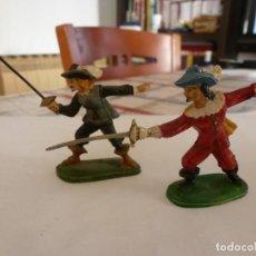 Juguetes Antiguos: MOSQUETEROS DEL REY-ESCALA 1/32(60MM) JIM,VER FOTOS.. Lote 117510335