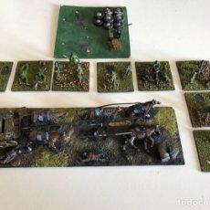 Juguetes Antiguos - Diorama guerra soldados - 118932539