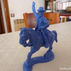 Juguetes Antiguos: GENERAL ULISES S. GRANT A CABALLO-EJERCITO UNIÓN-U.S.A. CIVIL WAR-(60 MM). Lote 120210871