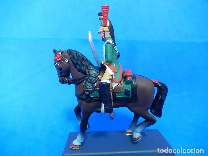 Juguetes Antiguos: Soldado a caballo. Dragón de la Guardia imperial Francesa. Cassandra. - Foto 2 - 122218631