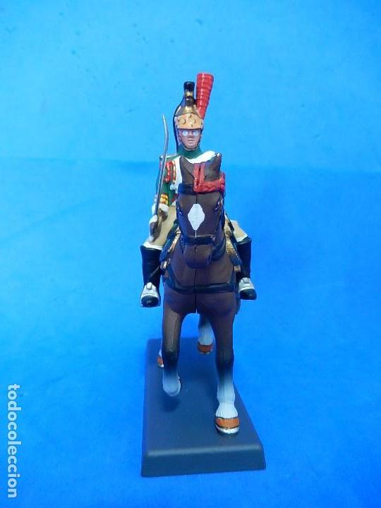 Juguetes Antiguos: Soldado a caballo. Dragón de la Guardia imperial Francesa. Cassandra. - Foto 3 - 122218631