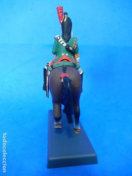 Juguetes Antiguos: Soldado a caballo. Dragón de la Guardia imperial Francesa. Cassandra. - Foto 5 - 122218631