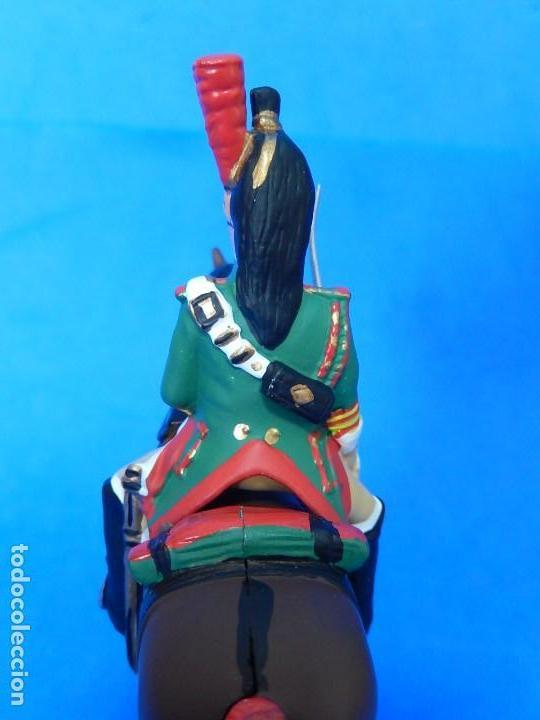 Juguetes Antiguos: Soldado a caballo. Dragón de la Guardia imperial Francesa. Cassandra. - Foto 6 - 122218631