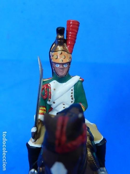 Juguetes Antiguos: Soldado a caballo. Dragón de la Guardia imperial Francesa. Cassandra. - Foto 7 - 122218631