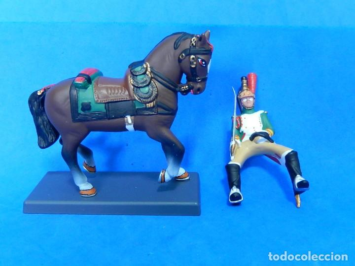 Juguetes Antiguos: Soldado a caballo. Dragón de la Guardia imperial Francesa. Cassandra. - Foto 8 - 122218631
