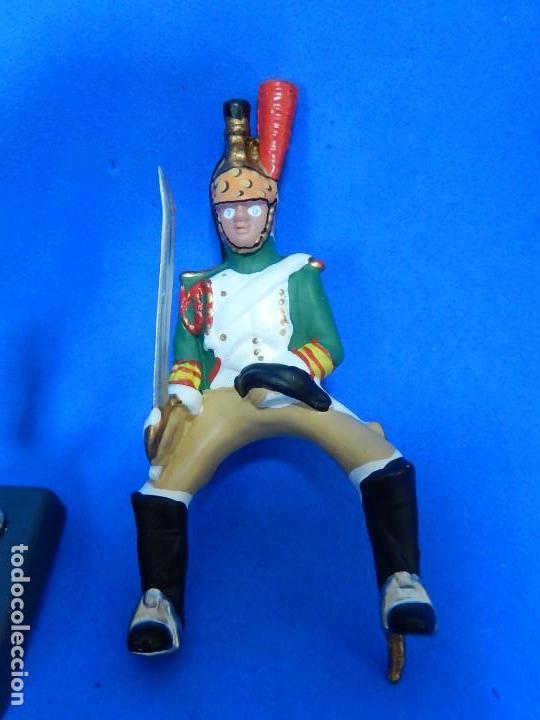 Juguetes Antiguos: Soldado a caballo. Dragón de la Guardia imperial Francesa. Cassandra. - Foto 9 - 122218631