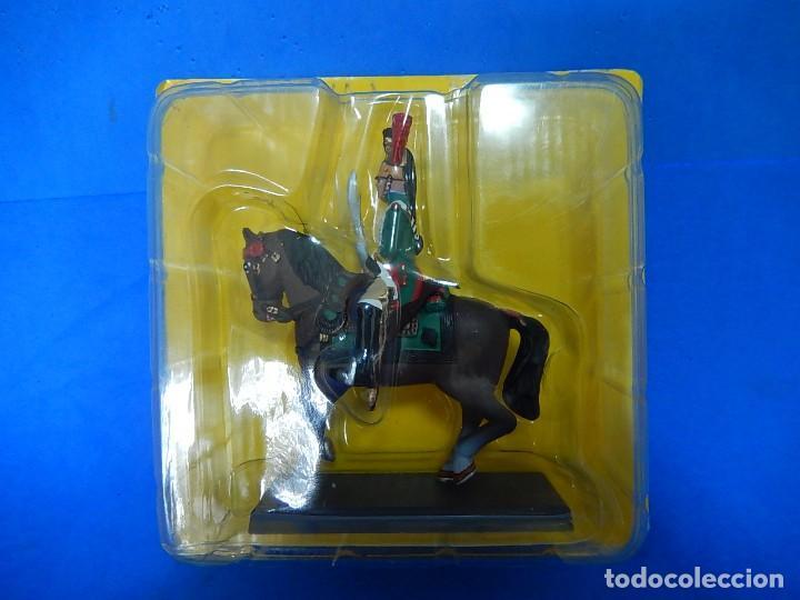 Juguetes Antiguos: Soldado a caballo. Dragón de la Guardia imperial Francesa. Cassandra. - Foto 11 - 122218631