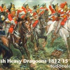Juguetes Antiguos: WATERLOO 1815 SET 053 BRITISH HEAVY DRAGOONS 1/72. Lote 138107026