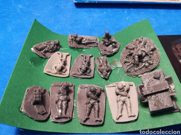 Altes Spielzeug: Caja Victory Muere en Stalingrado 12 soldaditos soviéticos resina + trinchera - Foto 2 - 122574612