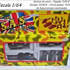 Juguetes Antiguos: THE S.A.S MICRO FORCE VEHÍCULOS MILITARES. Lote 92067520