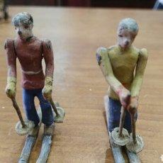 Juguetes Antiguos - Antiguas figuras plomo años 30 - 126860575