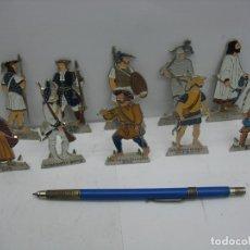 Juguetes Antiguos: SOLDADOS METALICOS PLANOS SET Nº 3. Lote 128909399