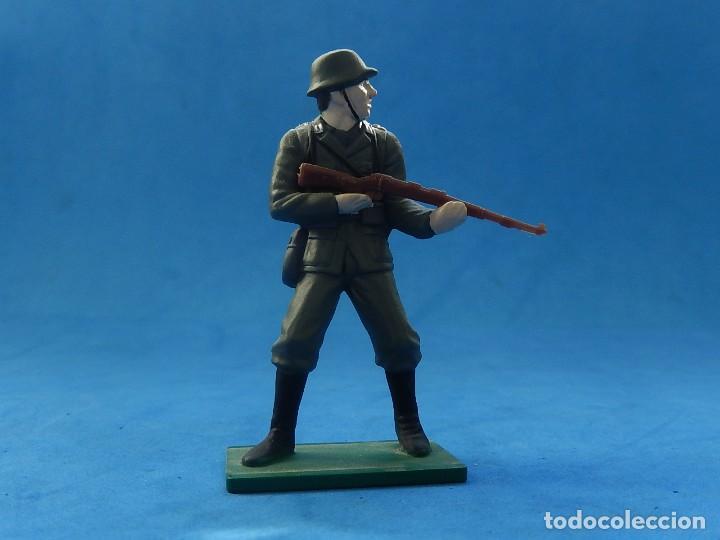 Juguetes Antiguos: Elite Command. Diecast Soldiers. Erwin Rommel y Soldados alemanes. Blue-Box. - Foto 5 - 129461791