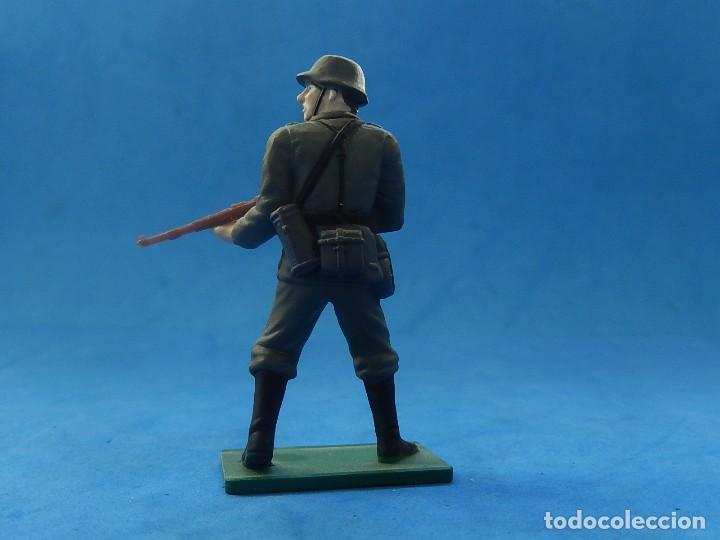 Juguetes Antiguos: Elite Command. Diecast Soldiers. Erwin Rommel y Soldados alemanes. Blue-Box. - Foto 6 - 129461791