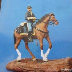 Juguetes Antiguos: CABALLERIA U.S.A. GUERRAS INDIAS-(54MM)-FIGURAS KIT PARA ENSAMBLAR Y PINTAR-U.S.A. CAVALRY WESTERN. Lote 129639279