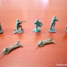Juguetes Antiguos: LOTE 7 SOLDADOS 1ª GUERRA MUNDIAL. Lote 134073514