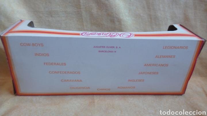 Juguetes Antiguos: OLIVER. RARA CAJA CONFEDERADOS. SUDISTAS. FIGURAS PLÁSTICO. A ESTRENAR! - Foto 8 - 137886933