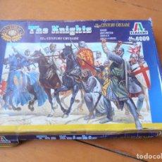 Juguetes Antiguos: LOS CRUZADOS - THE KNIGHTS - ITALERI - N 6009. Lote 139316658