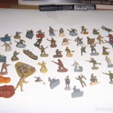 Juguetes Antiguos: SOLDADITOS LOTE 1,72 2 DA GUERRA MUNDIAL VARIAS MARCAS OFERTA . Lote 140281726