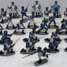 Juguetes Antiguos: AIRFIX 1/32 FRANCESES, INFANTERÍA FRANCESA GUERRAS NAPOLEÓNICAS, FRENCH INFANTRY 1815, WATERLOO. Lote 145127141