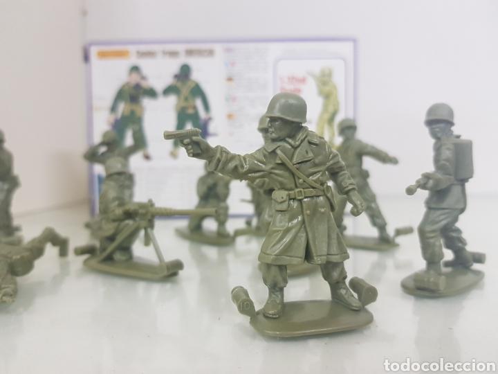 Juguetes Antiguos: Matchbox combatientes tropas americanas escala 1/32 11 personajes variados - Foto 6 - 147158242