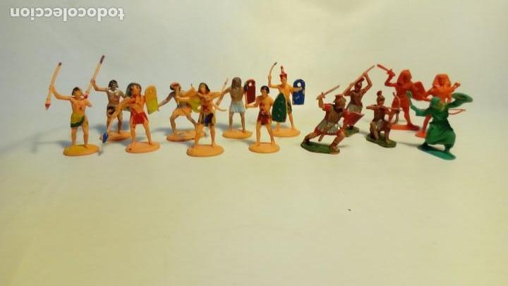 Juguetes Antiguos: LOTE DE SOLDADITOS- - Foto 7 - 147999970