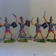Juguetes Antiguos: FIGURAS DE ROMANOS DE NARDI, 1/32. Lote 150358370
