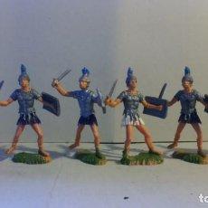 Juguetes Antiguos: FIGURAS DE ROMANOS DE NARDI, 1/32. Lote 150358770