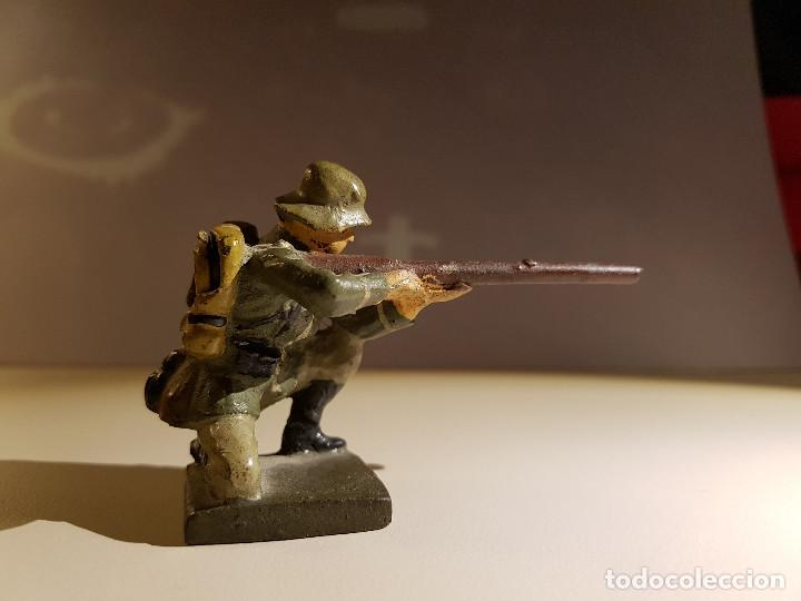 Juguetes Antiguos: Soldado Aleman 2ª Guerra Mundial . Lineol Germany - Foto 2 - 150572034