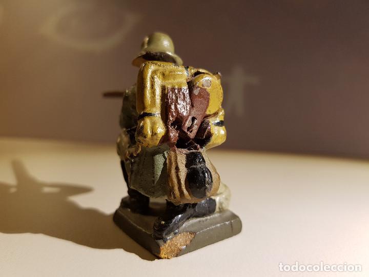 Juguetes Antiguos: Soldado Aleman 2ª Guerra Mundial . Lineol Germany - Foto 3 - 150572034
