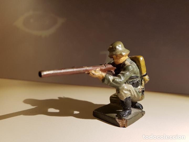 Juguetes Antiguos: Soldado Aleman 2ª Guerra Mundial . Lineol Germany - Foto 5 - 150572034