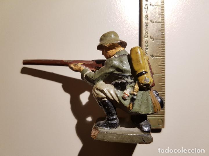 Juguetes Antiguos: Soldado Aleman 2ª Guerra Mundial . Lineol Germany - Foto 10 - 150572034
