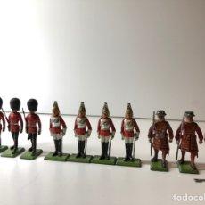 Juguetes Antiguos: LOTE 11 SOLDADITOS BRITAINS. Lote 151085497