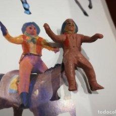 Juguetes Antiguos: VAQUERO DE ALCA-CAPELL-GOMA. Lote 151910566