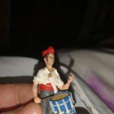 Juguetes Antiguos - Soldado de plomo pintado artesanalmente representando el tamborilero del Bruch - 153552932
