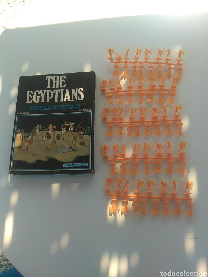 ATLANTIC THE EGYPTIANS 1502 MUCHAS FIGURAS (Juguetes - Soldaditos - Otros soldaditos)