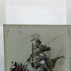 Juguetes Antiguos: VERONESE - REF: Z-716 MYTHS & LEGENS HISTORICAL KNIGHTS COLLECTION FIGURA SOLDADO CABALLERIA. Lote 155904741