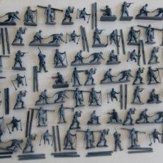 Juguetes Antiguos: AIRFIX ORIGINAL HO-1/72 TROPAS DE MONTAÑA DE II WW. SOLDADOS ALEMANES AÑOS 70.PTOY. Lote 156693010