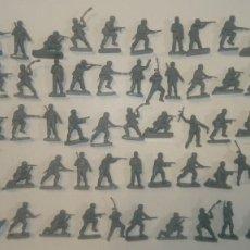 Juguetes Antiguos: AIRFIX ORIGINAL HO-1/72 LOTE 52 SOLDADOS ALEMANES PARACAIDISTAS DE LA 2ª GUERRA MUNDIAL AÑOS 70.PTOY. Lote 156769546