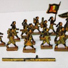 Juguetes Antiguos: BANDERA DE CAMISAS NEGRAS 1939. Lote 159754882