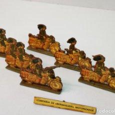 Juguetes Antiguos: COMPAÑÍA DE BERSAGLIERI MOTORIZADOS. Lote 159766170