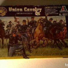 Juguetes Antiguos: ITALERI 6013 CABALLERÍA DE LA UNIÓN 1/72 ACW - UNION CAVALRY. Lote 160741706