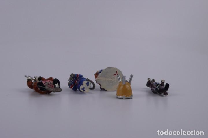 Juguetes Antiguos: Miniaturas de plomo - Ratones ratoncitos banda de música - Foto 4 - 163580186