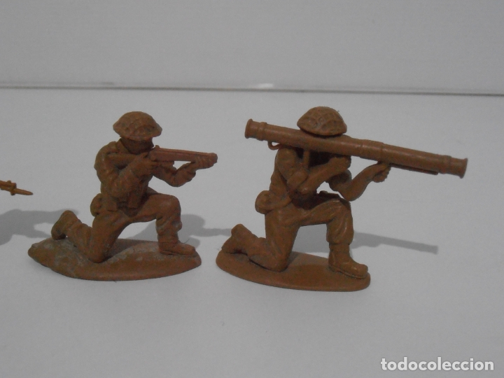 Juguetes Antiguos: LOTE 9 SOLDADITOS PLASTICO, 5 CM, B9, SOLDADOS - Foto 4 - 166308682