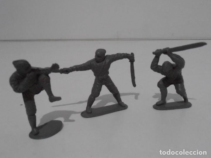 LOTE 3 SOLDADITOS PLASTICO, 5 CM, G3, SOLDADOS (Juguetes - Soldaditos - Otros soldaditos)