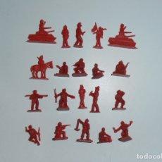 Juguetes Antiguos: LOTE 20 SOLDADITOS PLASTICO, 2 CM, R20, SOLDADOS. Lote 166315042