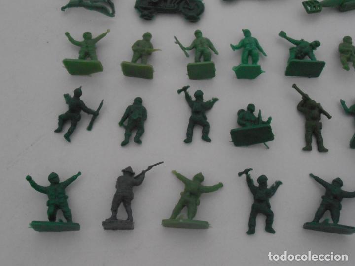 Juguetes Antiguos: LOTE 34 SOLDADITOS PLASTICO, 2 CM, V34, SOLDADOS - Foto 4 - 166315438