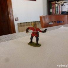 Juguetes Antiguos: POLICIA MONTADA CANADÁ-ESCALA 1/25(70MM)-LINEOL-JANETZKI ARTS-DIEDHOFF-. Lote 167529904