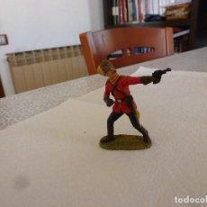 Juguetes Antiguos: POLICIA MONTADA CANADÁ-ESCALA 1/25(70MM)-LINEOL-JANETZKI ARTS-DIEDHOFF-. Lote 167530544