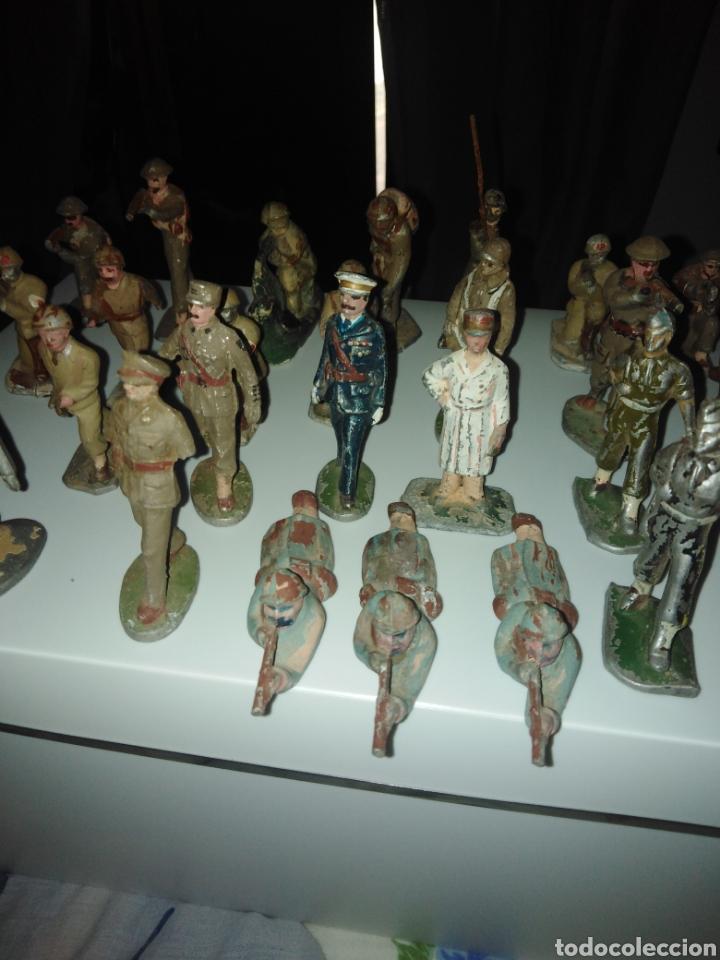 Juguetes Antiguos: Lote soldados años 40. - Foto 2 - 167544934